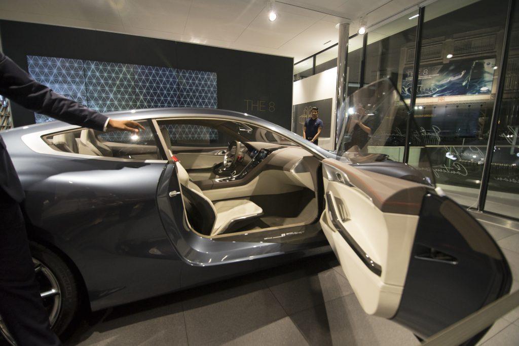 8 series interior