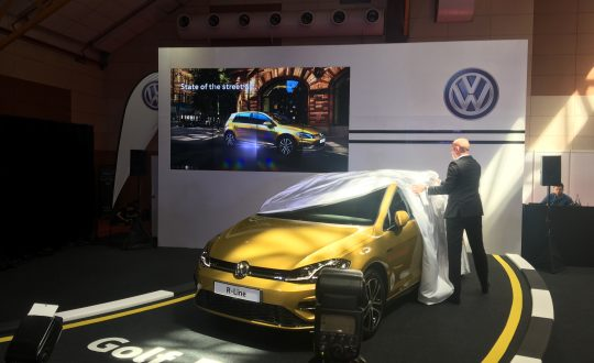 Volkswagen unveils the new Golf R-Line at the Malaysia Autoshow 2018