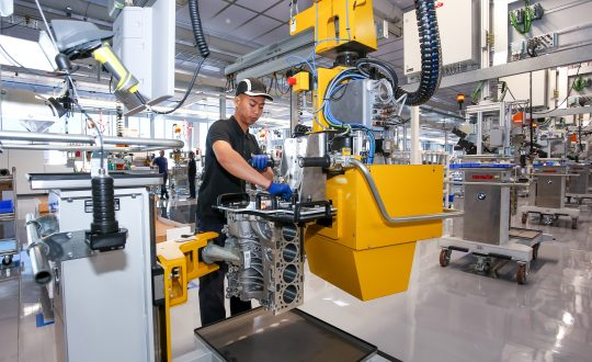 BMW's new engine plant is located at Kulim, Kedah
